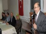 Başkan Gümrükçüoğlu Düzköy'de Konuştu