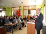 Ak Partili Soylu, Doğanhisar'da Siyaset Dersi Verdi