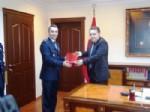 AHMET ODABAŞ - Polislere Başarı Belgesi Verildi