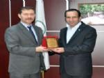 EROL TAŞ - Çınar Devlet Hastanesi'nden Dsi'ye Teşekkür Ziyareti