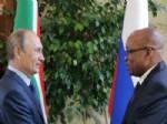 DURBAN - Güney Afrikalı Lider Zuma, Putin İle Görüştü