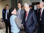 NUH ÇIMENTO - Karaosmanoğlu Nuh Çimento İşçisiyle Buluştu