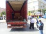 RAMAZAN YIĞIT - TIR'a Yüklenen Mermer Bloklar İşçilerin Üzerine Devrildi