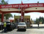 YAYLADAĞI SINIR KAPISI - Yayladağı sınır kapısı kapatıldı