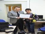 AHMET ODABAŞ - 8 Zihinsel Engelli Temel Bilgisayar Eğitimini Tamamladı