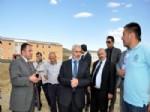BAYBURT MERKEZ - Ak Parti İl Başkanı Yusuf Elçi ve Yönetim Kurulu Üyeleri Çalışmaları Yerinde İnceledi