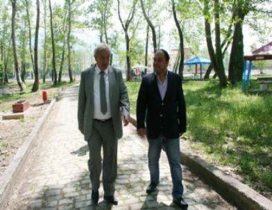 Devrek'te Milli Egemenlik Parkı Yeniden Düzenleniyor