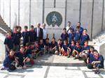 MİNİK FUTBOLCU - U-11'lere Play-Off Maçı Öncesi Başkan Keskin Morali