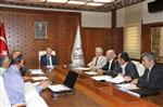 TÜRK FESTİVALİ - Kabhib Toplantısı Vali Mehmet Ceylan Başkanlığında Yapıldı