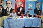 16 MAYIS 2013 - Dsp Genel Başkanı Türker Kırıkkale'de
