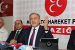 Mhp Genel Başkan Yardımcısı Oktay Vural Elazığ'da