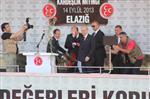 MHP Lideri Bahçeli Elazığ'da Halka Hitap Etti