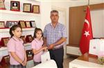 BAYRAM DEMIR - Öğrencilerden İlköğretim Haftası Ziyareti