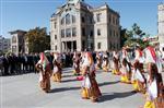 KOMPOZISYON - Aksaray'da Ahilik Haftası Kutlamalarında Halk Oyunları Yer Aldı