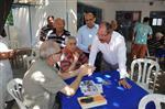 DAVUTLAR - Başkan Altungün'den Beldelere Ziyaret