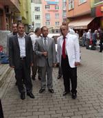 Çarşıbaşı Kaymakamı Avşar'dan, Ak Parti Şalpazarı Belediye Başkan Aday Adayı Selvitop'a Ziyaret