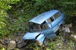 İLKÜVEZ - Yolcu Minibüsü Devrildi: 2 Ölü, 5 Yaralı