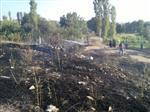 Harmancık'ta Korkutan Anız Yangını