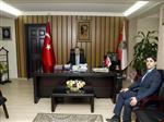 Pehlivanköy Kaymakamı Duru'dan Emniyet Müdürü Aktaş'a Ziyaret
