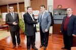 ALI RıZA BEY - Makedonya'dan Başkan Dündar'a Destek