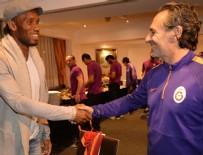 ŞAMPIYONLAR LIGI - Galatasaray'a Drogba'dan sürpriz