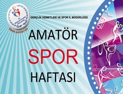 Amatör Spor Haftası kutlanıyor