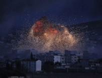 IŞİD YPG'nin mühimmat deposunu vurdu