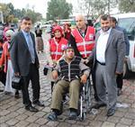 YUSUF SAĞLAM - Tekkeköy Belediyesi'nden Tekerlekli Sandalye