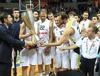 Fenerbahçe Ülker kupasını aldı