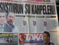 Taka Gazetesi: Susturun şu kahpeleri