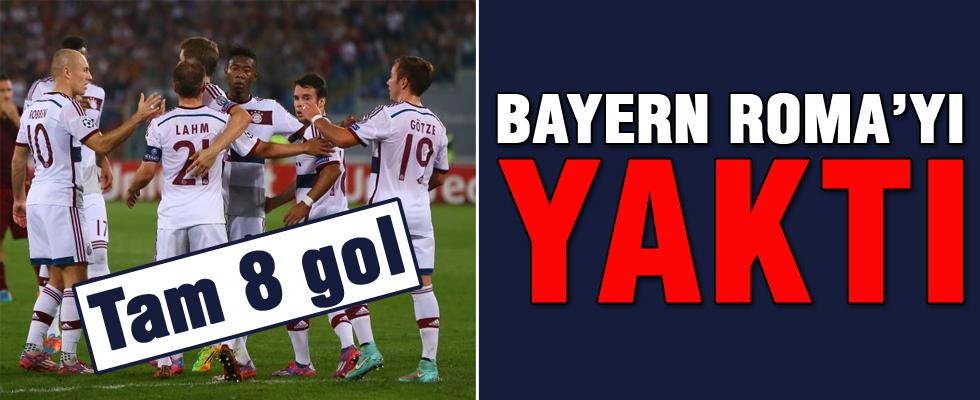 Bayern Roma'yı resmen yaktı