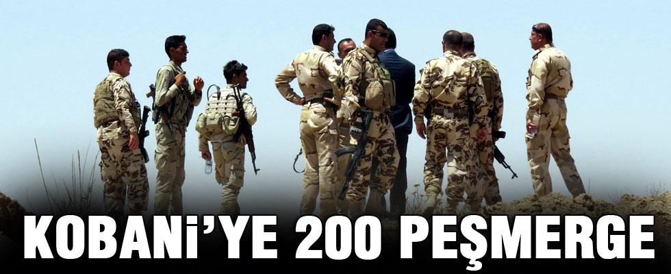Peşmergeye Kobani'ye geçiş izni