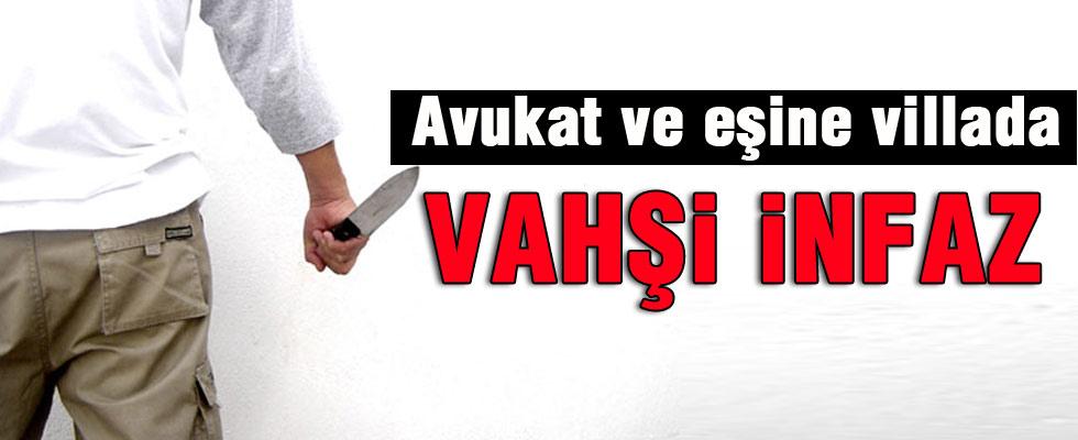Adana'da avukat ve eşine infaz!