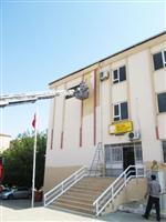 OKUL ÇATISI - Besni İbn-i Sina Mesleki ve Teknik Anadolu Lisesi Değişime Devam Ediyor