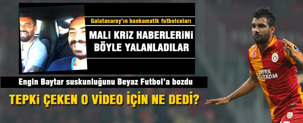 Engin Baytar Beyaz Futbol'a konuştu