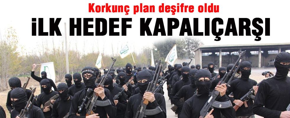 IŞİD'in korkunç Kapalıçarşı planı