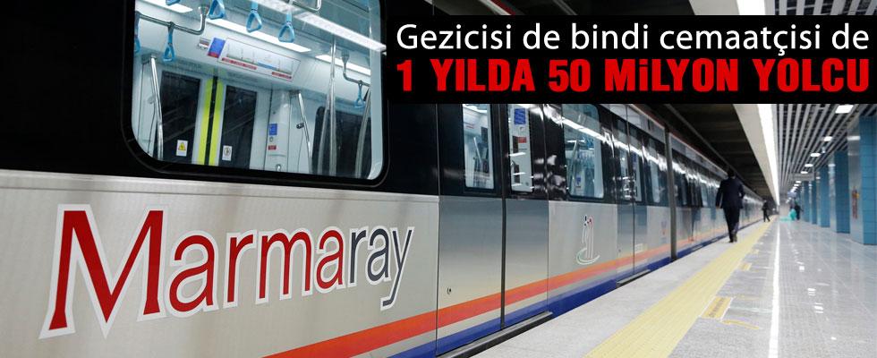 Marmaray 1 yaşında
