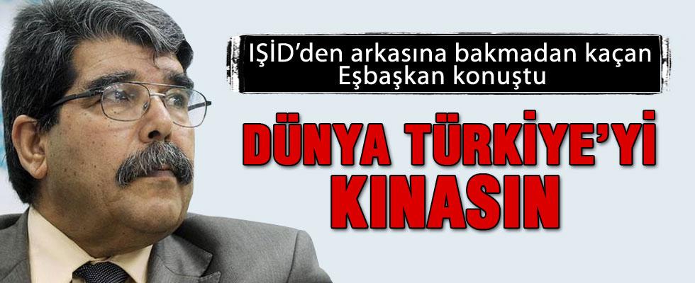 Salih Muslim: Dünya Türkiye'yi kınasın