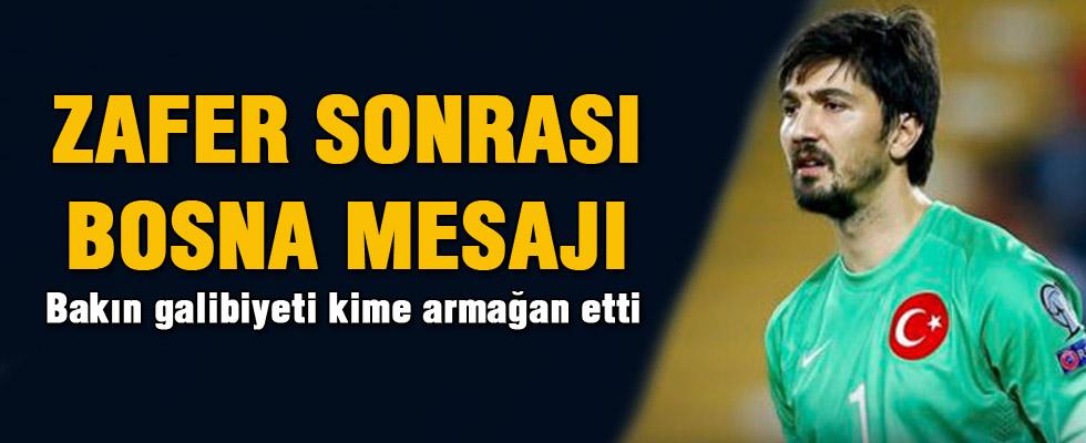 Tolga'dan Sırbistan'da Bosna mesajı geldi