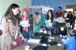 Trabzon'da Öğrenciler Köy Okullara Yardım Etti