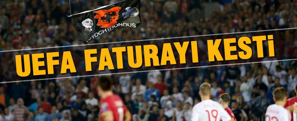 UEFA olaylı maçın kararını açıkladı