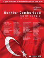 """20 KASıM - Cumhuriyet'in 91'inci Yılında 'Renkler Cumhuriyeti"""" Sergisi"""