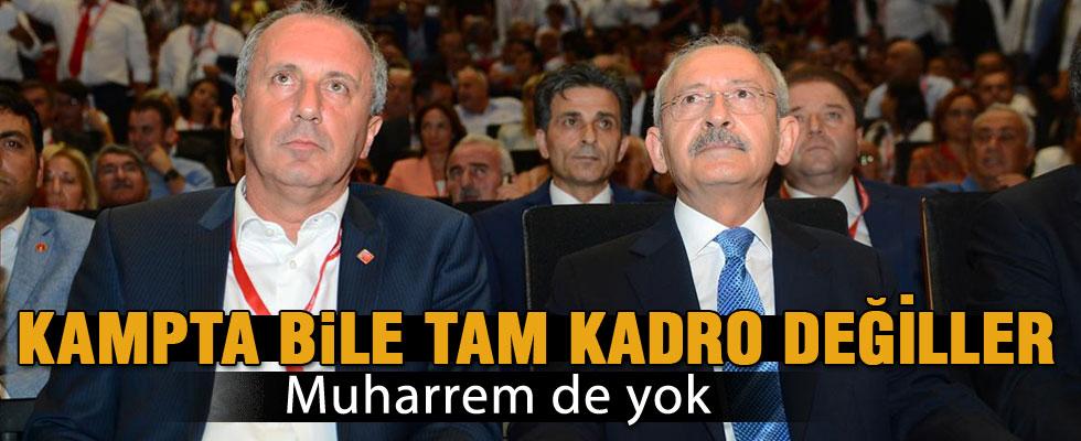 CHP EKSİK KADROYLA ANTALYA KAMPINDA!