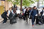 NIHAT MıZRAK - Öğrenciler Farkındalık Oluşturmak İçin Çöp Topladı