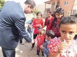 Kaymakam Çelik, Bayramda Bilge Köyü Çocuklarını Unutmadı