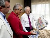 CHP Lideri Kılıçdaroğlu Baykal ile bir araya geldi