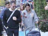 BENJAMİN HARVEY - Hande Ataizi bebeğiyle gezmede