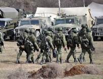 ASKERİ SEVKİYATI - Rus ordusu Ukrayna'ya girdi