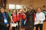 Erzincan'da Masa Tenisi Müsabakaları Düzenlendi