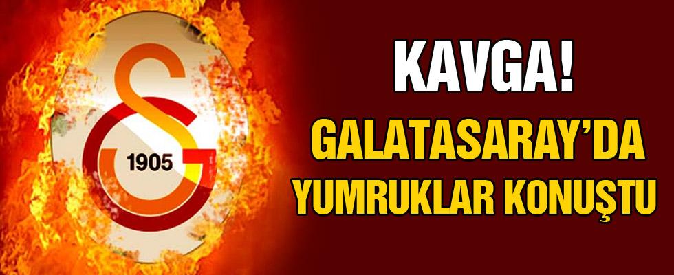 Galatasaray'da yumruklar konuştu